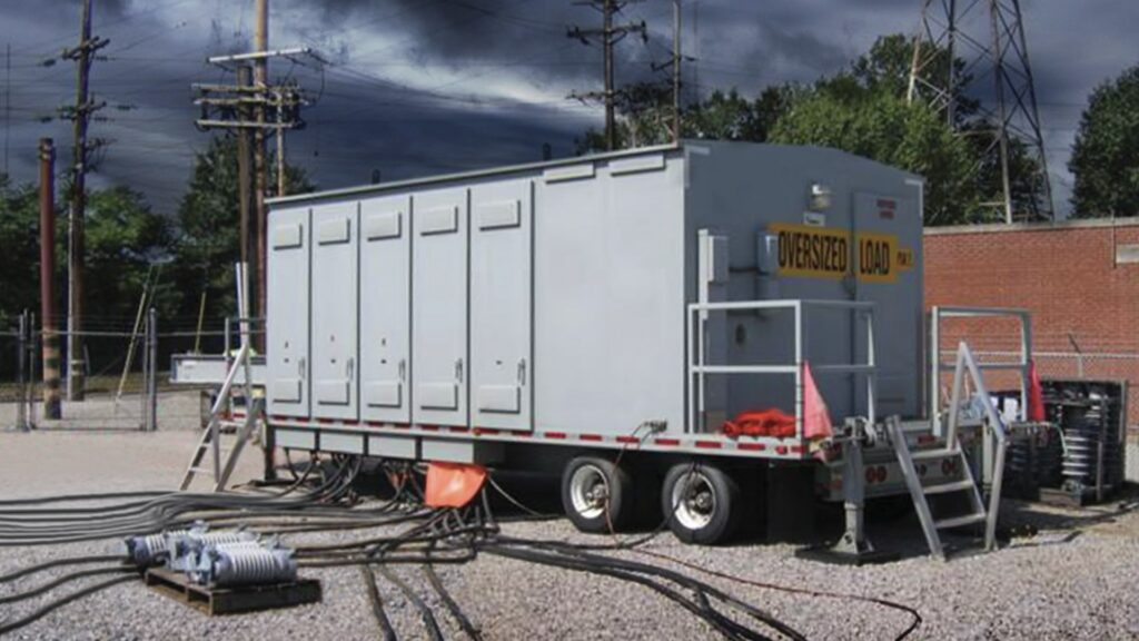 emergency mobile substations, AZZ