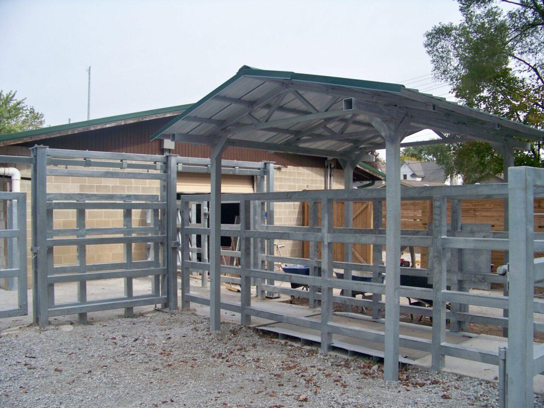 picture of rhino enclosure